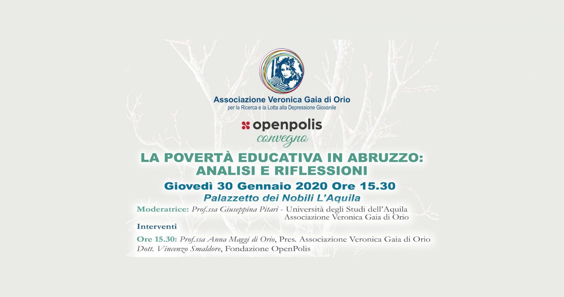 La povertà educativa in Abruzzo: analisi e riflessioni