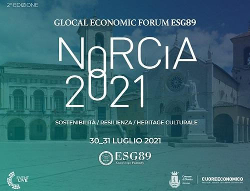 Norcia 2021 - Glocal Economic Forum ESG89