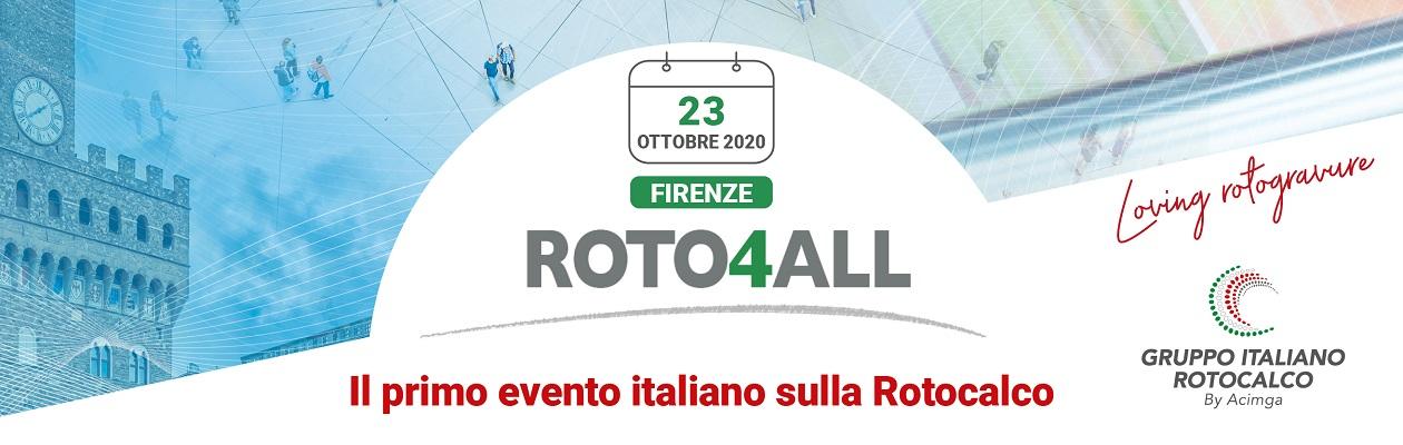 Roto4All - il primo evento italiano sulla rotocalco