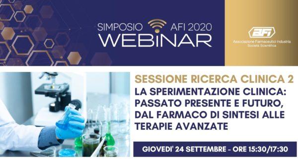 La sperimentazione clinica: passato presente e futuro, dal farmaco di sintesi alle terapie avanzate