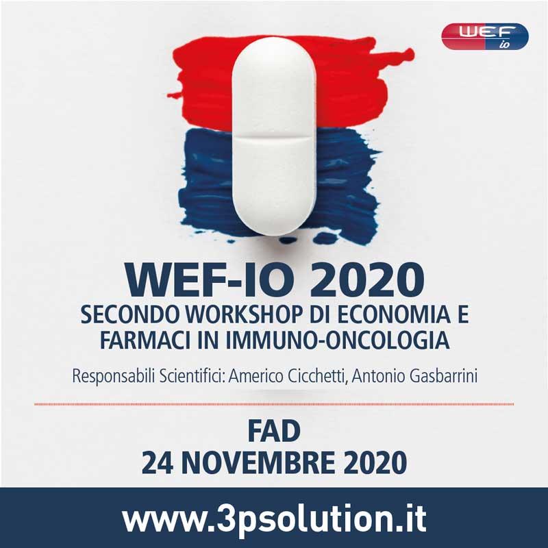 Secondo Workshop di economia e farmaci in Immuno-oncologia - WEF IO 2020
