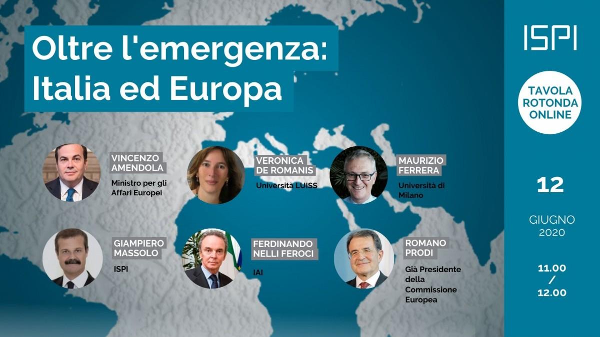 Oltre l'emergenza: Italia ed Europa