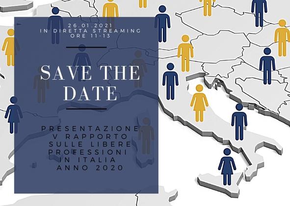 Presentazione del V Rapporto sulle libere professioni in Italia - Anno 2020