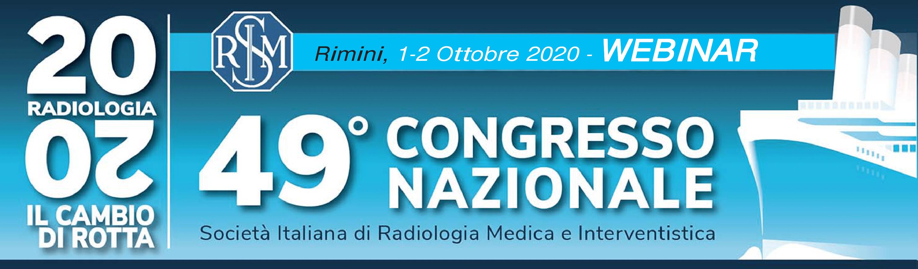 49° Congresso Nazionale Società Italiana di Radiologia Medica e Interventistica (SIMR)