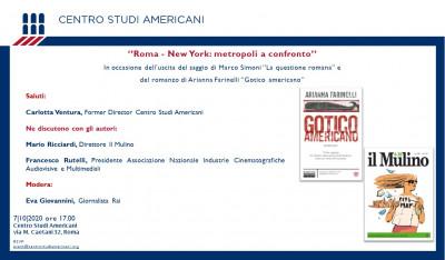 Roma-New York: metropoli a confronto