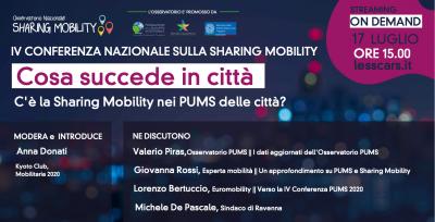 C'è la Sharing Mobility nei PUMS delle città?