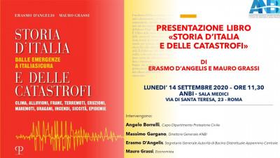 """Presentazione del libro: """"Storia d'Italia e delle catastrofi"""""""