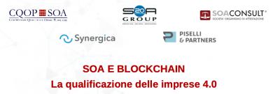 SOA e blockchain. La qualificazione delle imprese 4.0