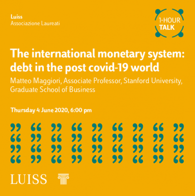 The international monetary system: debt in the post covid-19 world