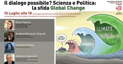Il dialogo è possibile? Scienza e politica: la sfida Global Worming