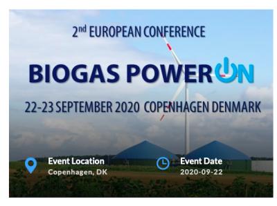 Biogas PowerON 2020