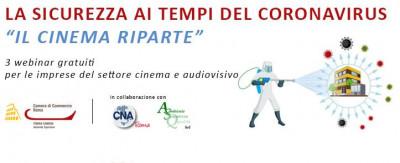 Il Protocollo per la tutela dei lavoratori del settore cine-audiovisivo ai tempi dell'emergenza epidemiologica da Covid-19