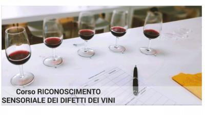 Riconoscimento sensoriale dei difetti dei vini livello intermedio
