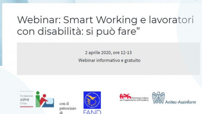 Smart Working e lavoratori con disabilità: si può fare