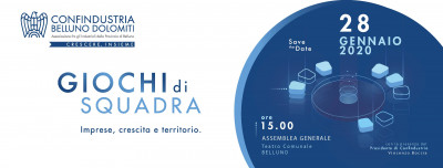Assemblea generale Confindustria Belluno Dolomiti