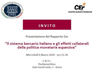 Il sistema bancario italiano e gli effetti collaterali della politica monetaria espansiva