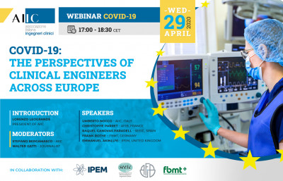 COVID-19: the perspectives of Clinical Engineers across Europe