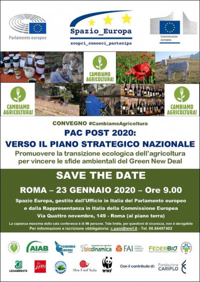 PAC post 2020: verso il piano strategico nazionale