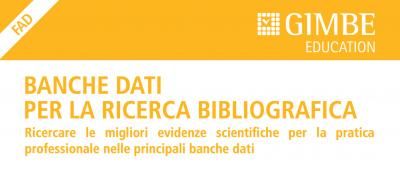 Banche dati per la ricerca bibliografica