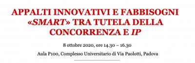 """Appalti innovativi e fabbisogni """"smart"""" tra tutela della concorrenza e IP"""