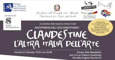 Clandestine. L'altra italia dell'arte