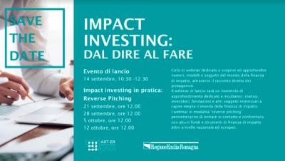 Impact investing: dal dire al fare
