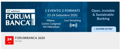 Forum Banca 2020