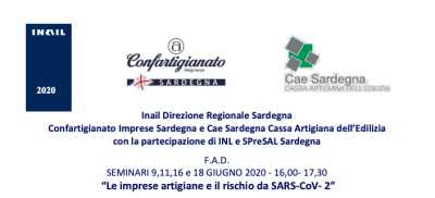 Le imprese artigiane e il rischio da SARS-CoV-2