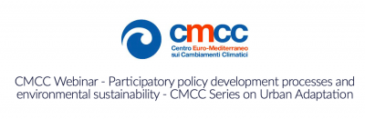 Participatory policy development processes and environmental sustainability - CMCC Series on Urban Adaptation