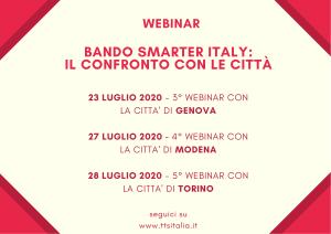 Bando smarter Italy: il confronto con le città