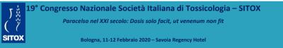 19° CONGRESSO NAZIONALE DELLA SOCIETÀ ITALIANA DI TOSSICOLOGIA