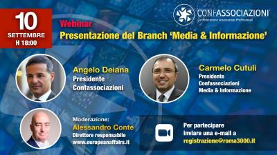 """Presentazione del Branch """"Media e Informazione"""""""