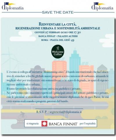 Reinventare le città. Rigenerazione urbana e sostenibilità ambientale