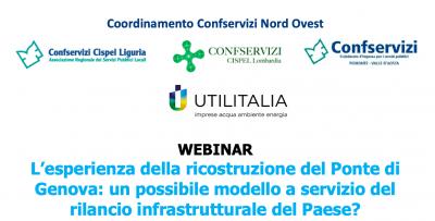 L'esperienza della ricostruzione del Ponte di Genova: un possibile modello a servizio del rilancio infrastrutturale del Paese?