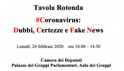 Coronavirus: dubbi, certezze, fake news
