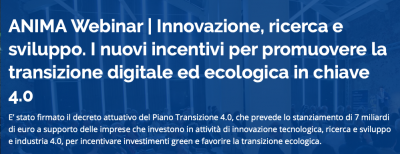 Innovazione, ricerca e sviluppo. I nuovi incentivi per promuovere la transizione digitale ed ecologica in chiave 4.0