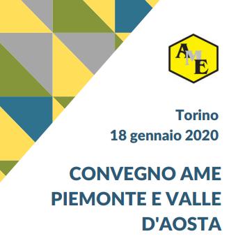 CONVEGNO AME PIEMONTE E VALLE D'AOSTA