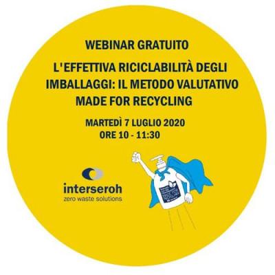 L'effettiva riciclabilità degli imballaggi: il metodo valutativo Made for Recycling