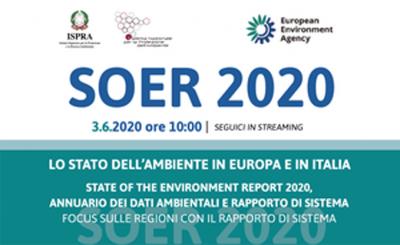 Presentazione SOER 2020 - Lo stato dell'ambiente in Europa e in Italia