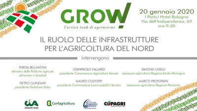 Grow! Il ruolo delle infrastrutture per l'agricoltura del Nord