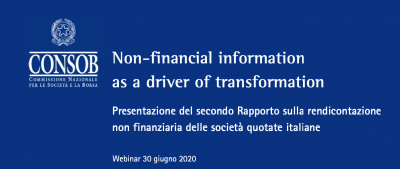 Non-financial information as a driver of transformation