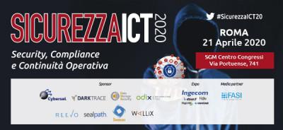 Sicurezza ICT 2020