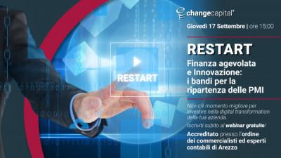 Restart - Finanza agevolata e innovazione: i bandi per la ripartenza delle PMI