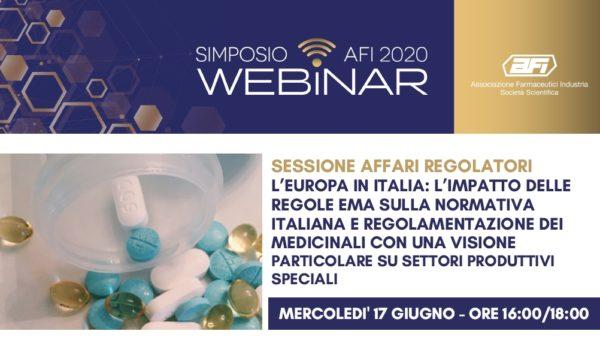 L'Europa in Italia: l'impatto delle regole EMA sulla normativa italiana e regolamentazione dei medicinali con una visione particolare su settori produttivi speciali
