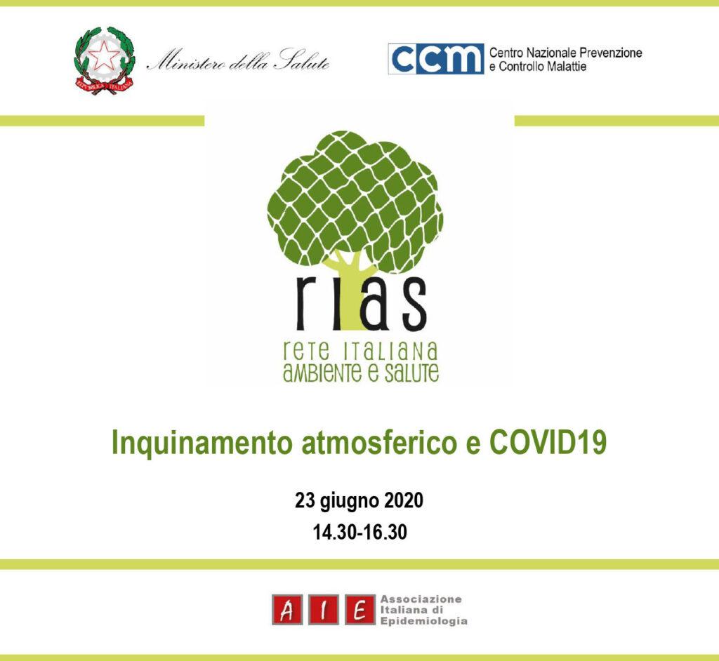 Inquinamento atmosferico e COVID19